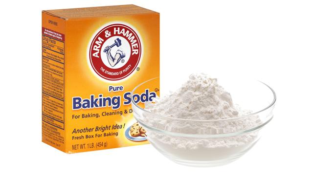 mẹo vặt baking soda vệ sinh bếp