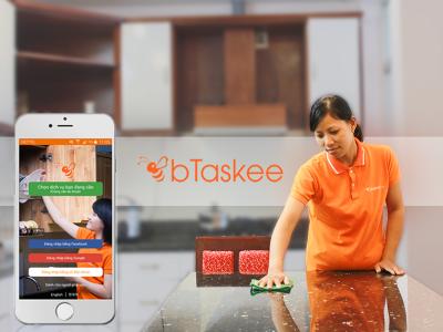 bTaskee – Ứng dụng giúp việc nhà theo giờ của thời công nghệ