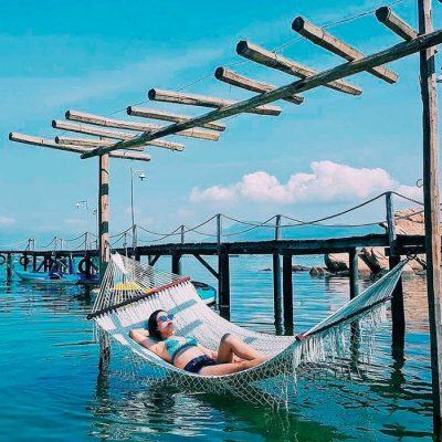 """Tứ Bình – 4 """"Maldives"""" thu nhỏ của Việt Nam"""