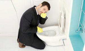 Khử mùi cho phòng vệ sinh