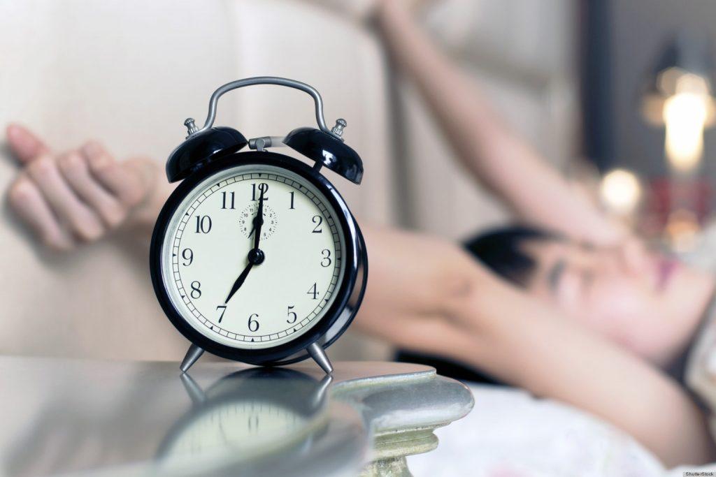 dậy sớm tràn đầy năng lượng