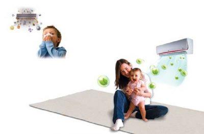 6 cách sử dụng máy lạnh an toàn cho trẻ em