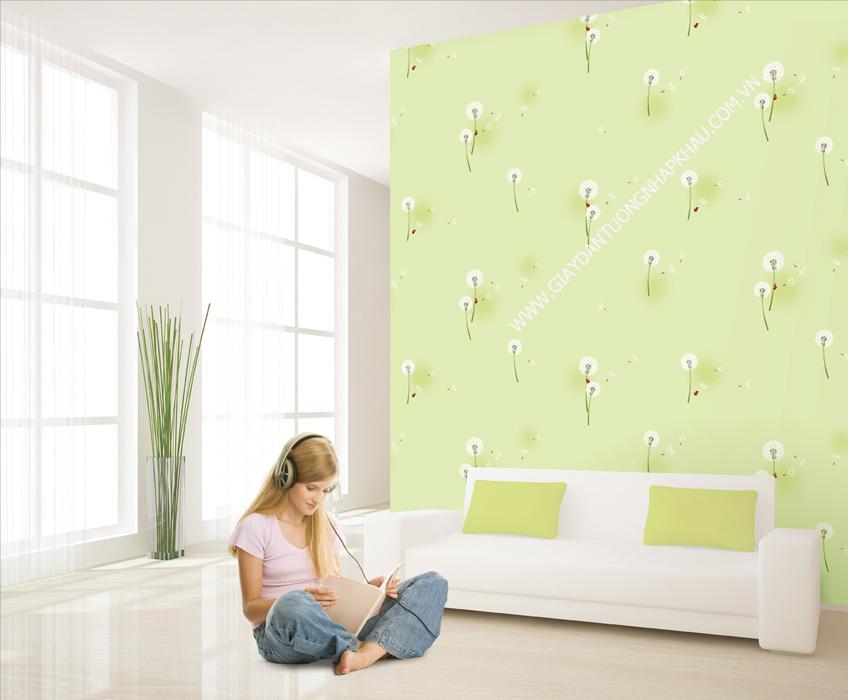 kẹo cao su dính lên giấy dán tường không phải là vấn đề