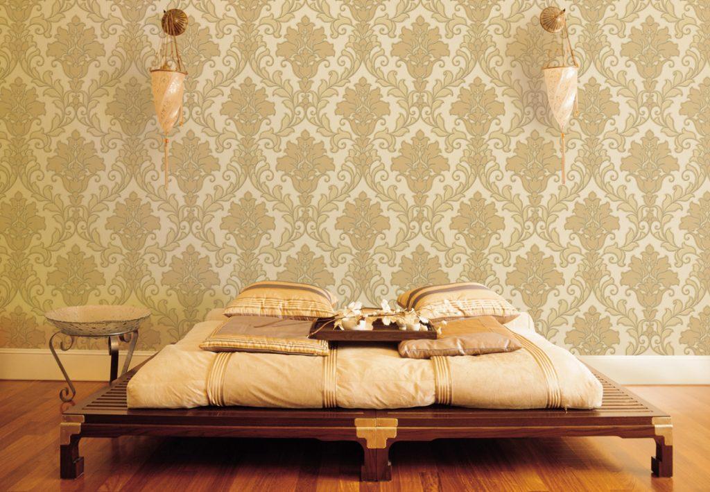 làm sạch giấy dán tường giúp căn nhà sang trọng hơn