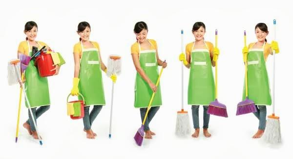 Người giúp việc nhà dưới 20 tuổi