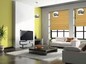 trang trí phòng khách như người Nhật