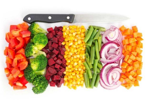 giữ vitamin cho rau củ