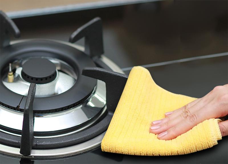 vệ sinh bếp gas hiệu quả