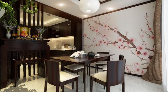 Học cách bài trí phòng ăn của người Nhật