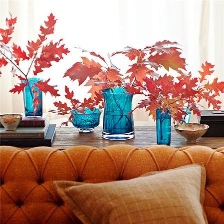 Trang trí nhà cửa theo phong cách mùa thu