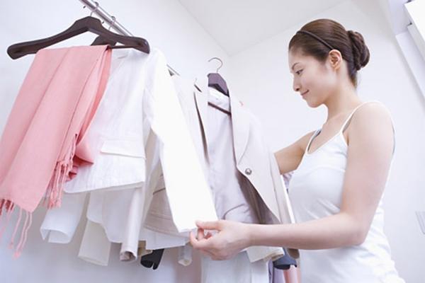 quần áo sạch bẩn