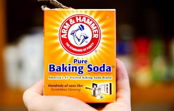 baking soda giúp làm sạch hiệu quả
