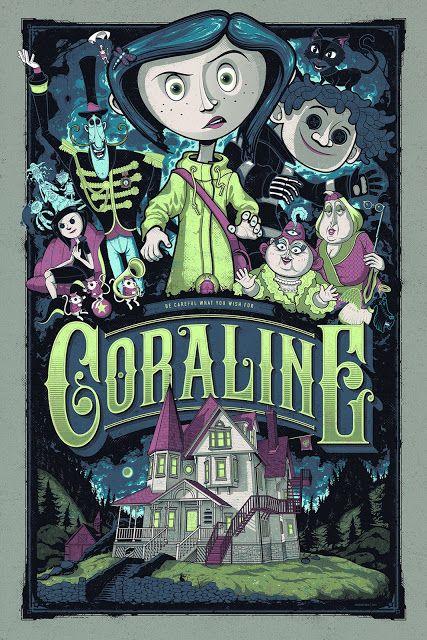 Phim hoạt hình cho Halloween _Coraline