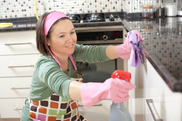 dọn dẹp nhà bếp