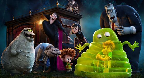 Hoạt hình cho halloween - Hotel Transylvania