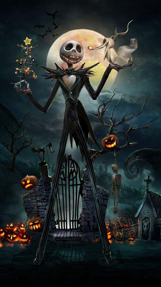 Phim hoạt hình dành cho Halloween - The Nightmare Before Christmas