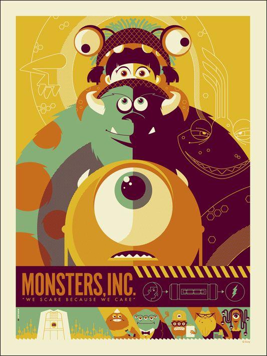Phim hoạt hình dành cho Halloween - Monster