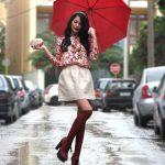 5 tip lựa chọn trang phục để mặc đẹp vào ngày mưa