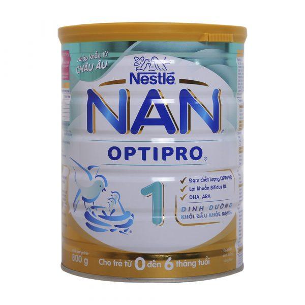 Thương hiệu sữa Nan Nestle của tập đoàn Nestle trụ sở chính tại Thụy Sĩ