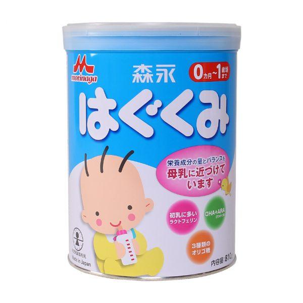 Thương hiệu sữa Nhật Bản Morinaga