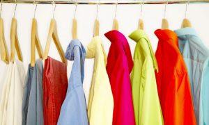 giặt quần áo không ra màu