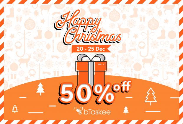 bTaskee đem Giáng Sinh đến mọi nhà