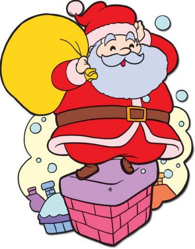 Cách vẽ ông già Noel đơn giản, dễ làm