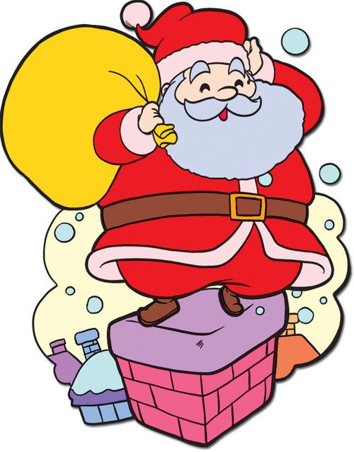 cách vẽ ông già Noel