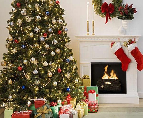 trang trí nhà đón Giáng Sinh