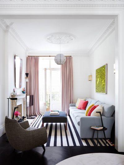 13 cách trang trí khiến phòng khách nhỏ trông rộng hơn