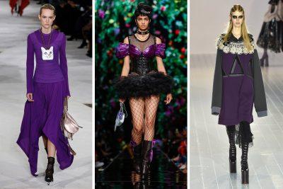 5 cách phối đồ đẹp với màu tím đậm – màu quyền lực 2018