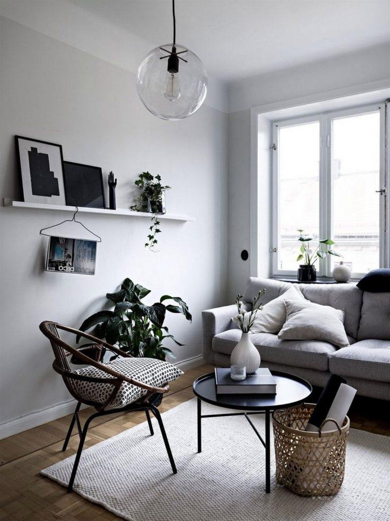 phòng khách nhỏ