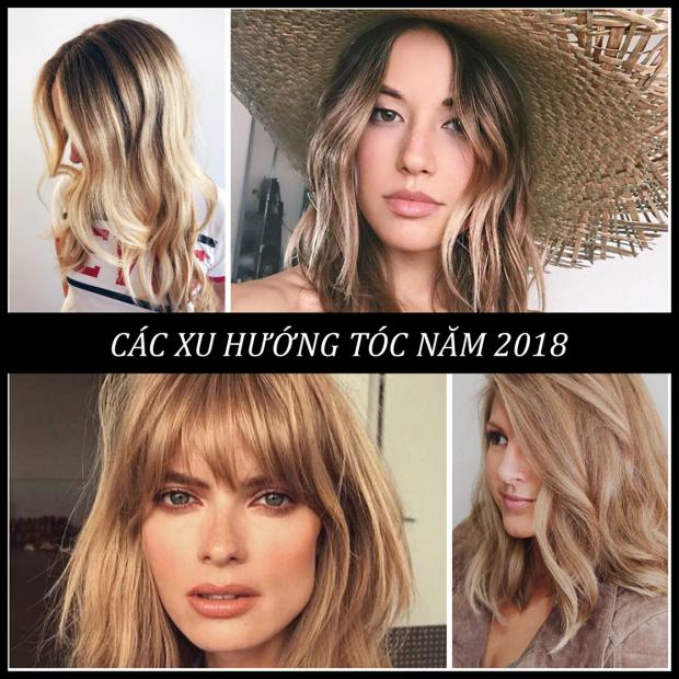 Gợi ý các xu hướng tóc 2018 giúp bạn thay đổi phong cách