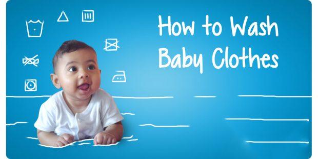 Giặt quần áo cho trẻ sơ sinh đúng chuẩn