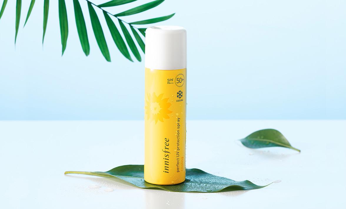 cach-su-dung-kem-chong-nang-Innisfree-Perfect-UV-Protection-Spray-Cooling