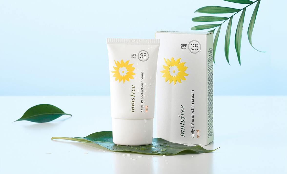 cach-dung-kem-chong-nang-Innisfree-Perfect-UV-Protection-Cream-Mild