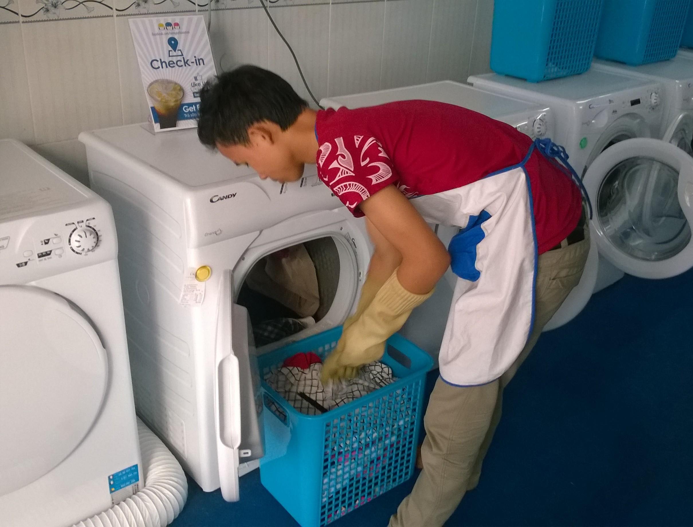 Dịch vụ giặt quần áo