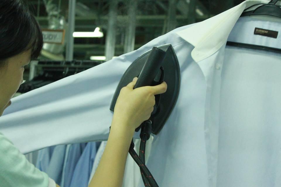 Dịch vụ giặt là quần áo