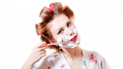 Bật mí cách cạo lông mặt cho da mềm mại và mịn màng