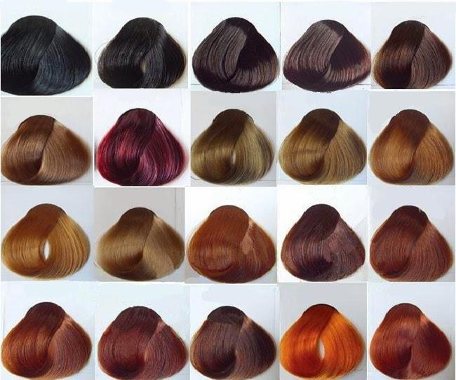 màu tóc nhuộm