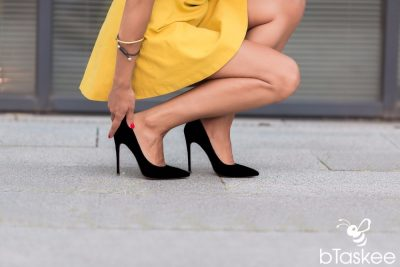 Cách mang giày cao gót không đau chân giúp nàng thêm tự tin