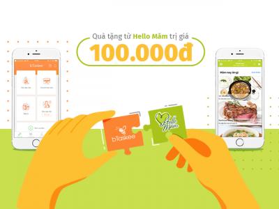 Nhận ngay 100.000 VND mua thực phẩm sạch tại Hello Măm khi sử dụng dịch vụ của bTaskee