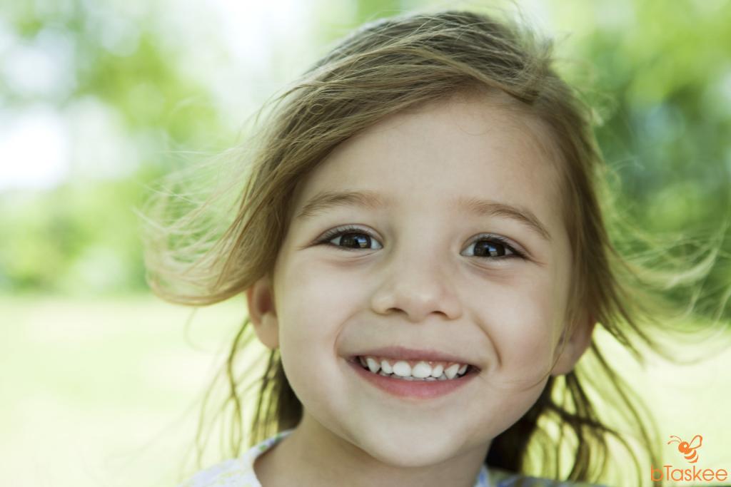 trẻ có hàm răng đẹp