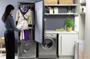 sử dụng máy sấy quần áo