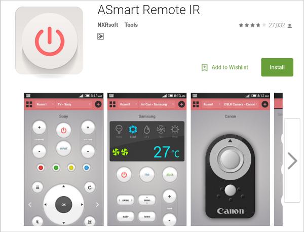 ASmart-Remote-IR
