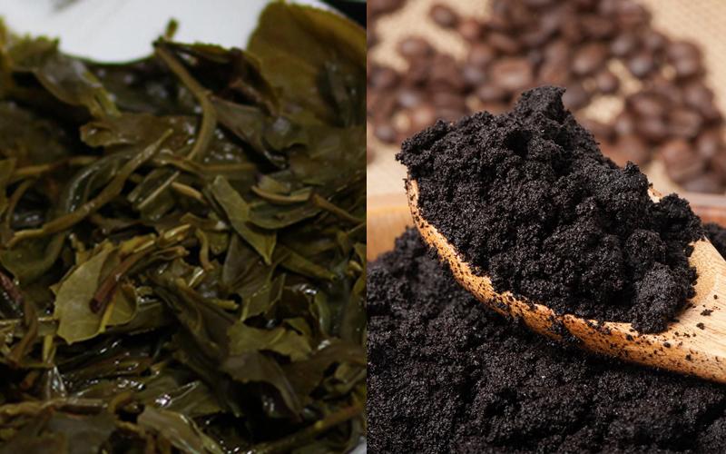 bã trà và cà phê
