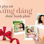20/10: Món quà lớn nhất đến từ sự sẻ chia của những người trong gia đình