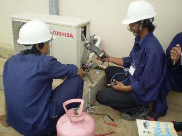 dịch vụ bơm gas máy lạnh chuyên nghiệp