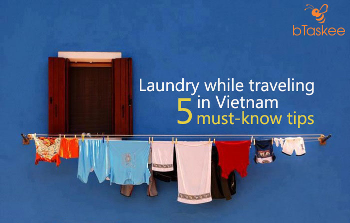 laundry while traveling in vietnam