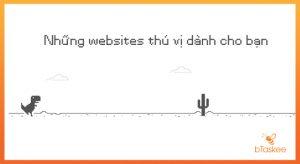 những trang web thú vị